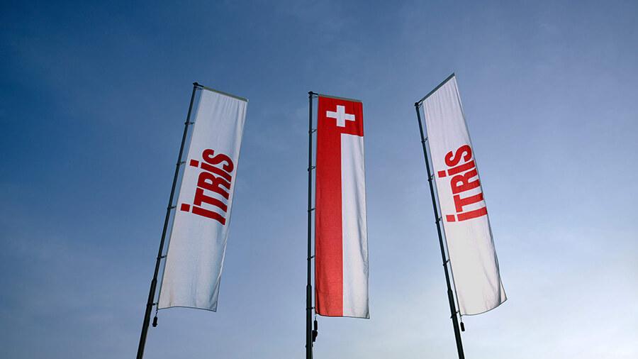 Itris Flagge Spreitenbach